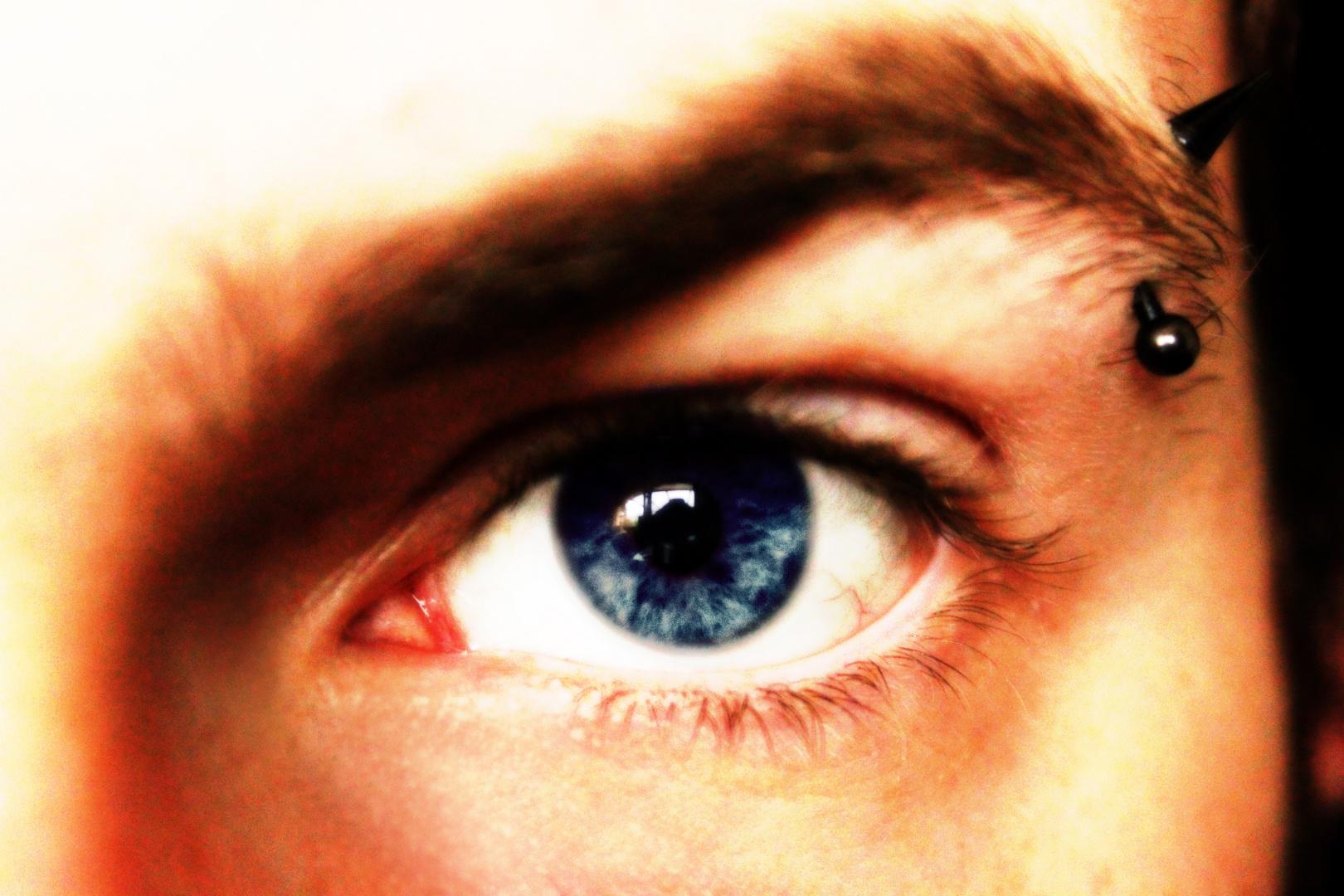 Blue Pierced Eye