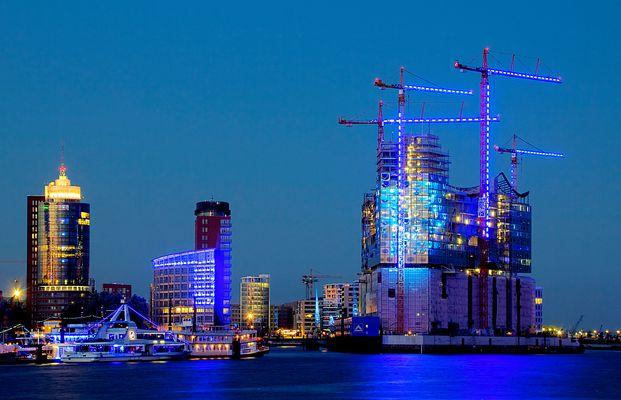Blue Port 2010 - Elbphilharmonie