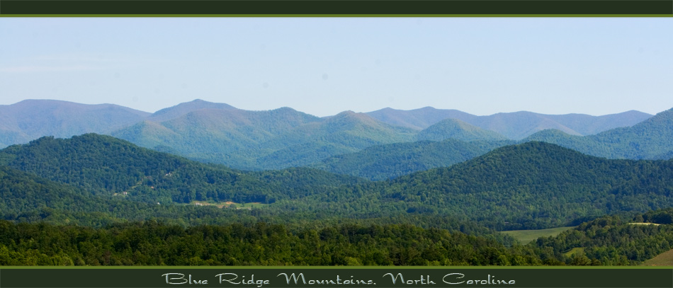 Blue Ridge Mountains, North Carolina