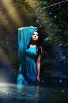 blue river goddess