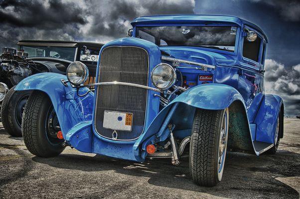 Blue Rod