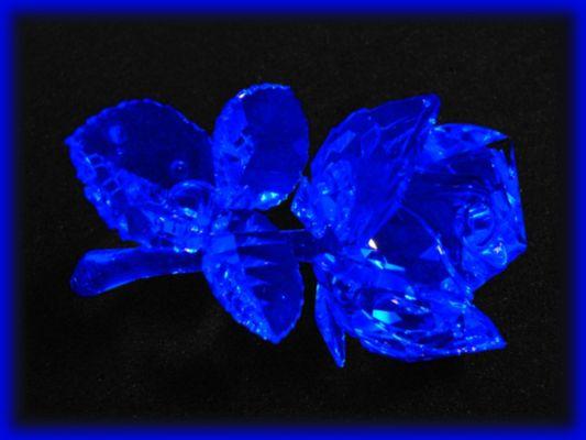 blue rose swarovski