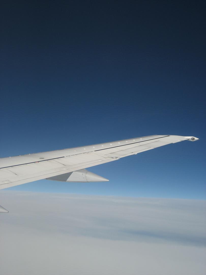 blue skies over hamburg ...