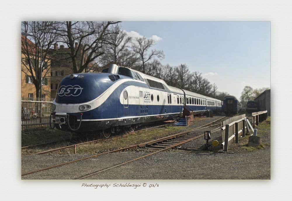 Blue Star Train ..