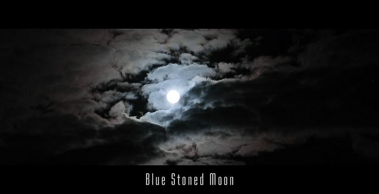 blue stoned moon - inspired by OM