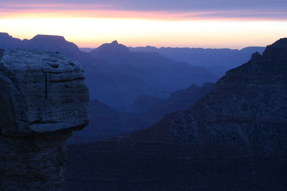 Blue Sunrise at Mather Point
