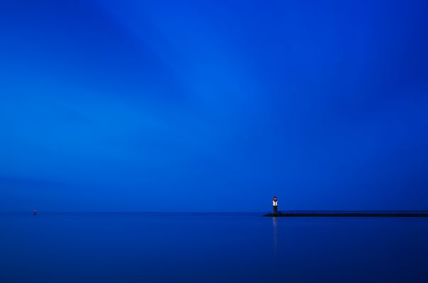 Blue tranquility