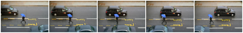 Blue Umbrella #1 - 5