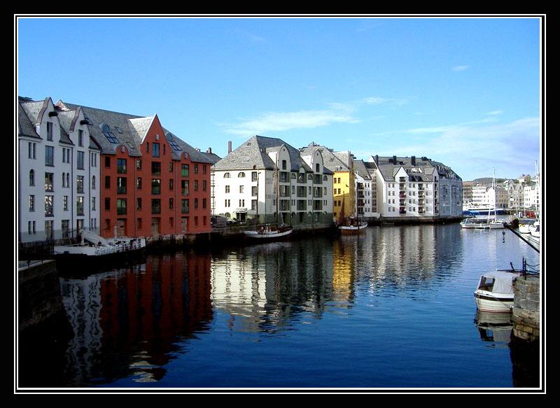 Blue Water of Alesund