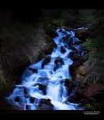 _blue waterfall_