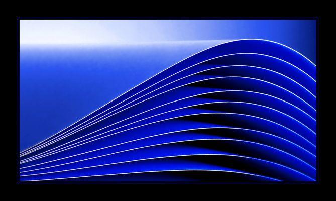 [ BLUE WAVES ]