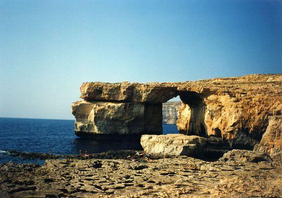 Blue Window von Gozo