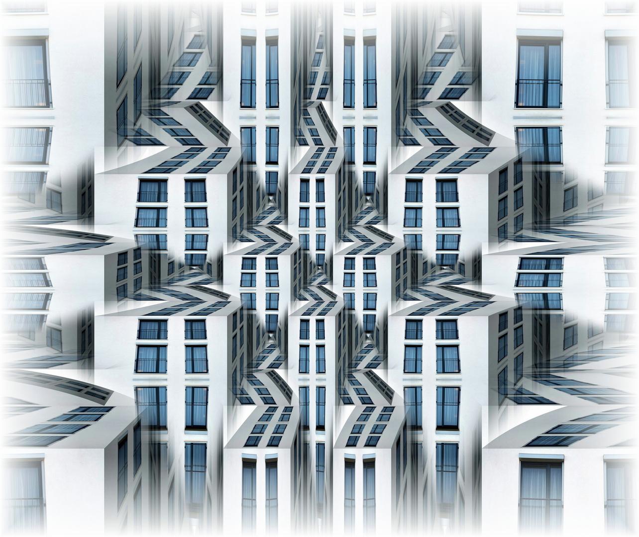 Blue Windows City
