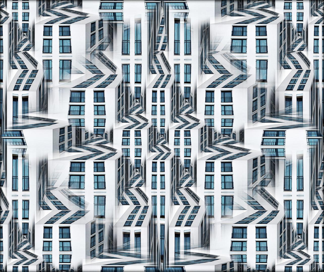 Blue Windows City XX