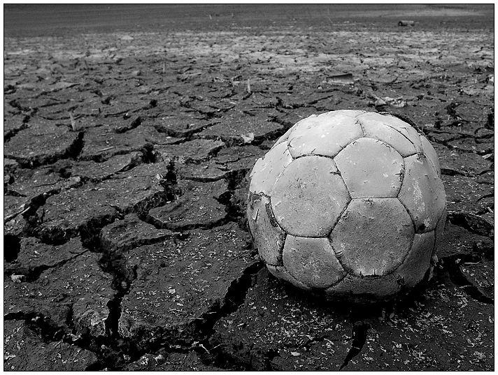 Blühende Landschaften: Fußball