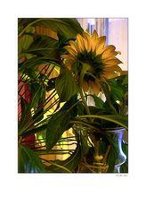 Blume in der Vase - c