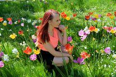 Blumen Frau