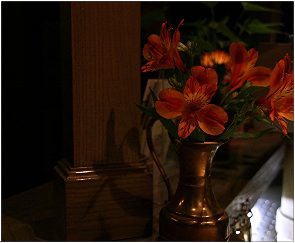 Blumen im Hotel