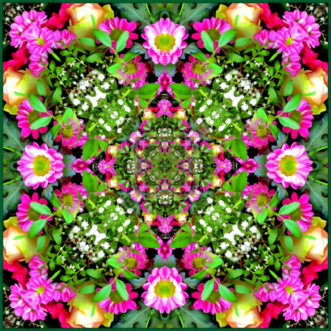 Blumen-Kaleidoskop