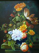 Blumen nach Art der alten Meister