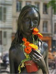 Blumen von einem Verehrer
