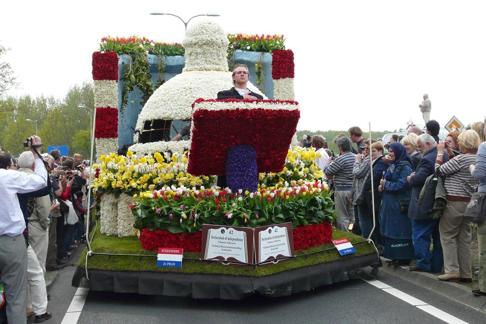 Blumencorso am Keukenhof Holland