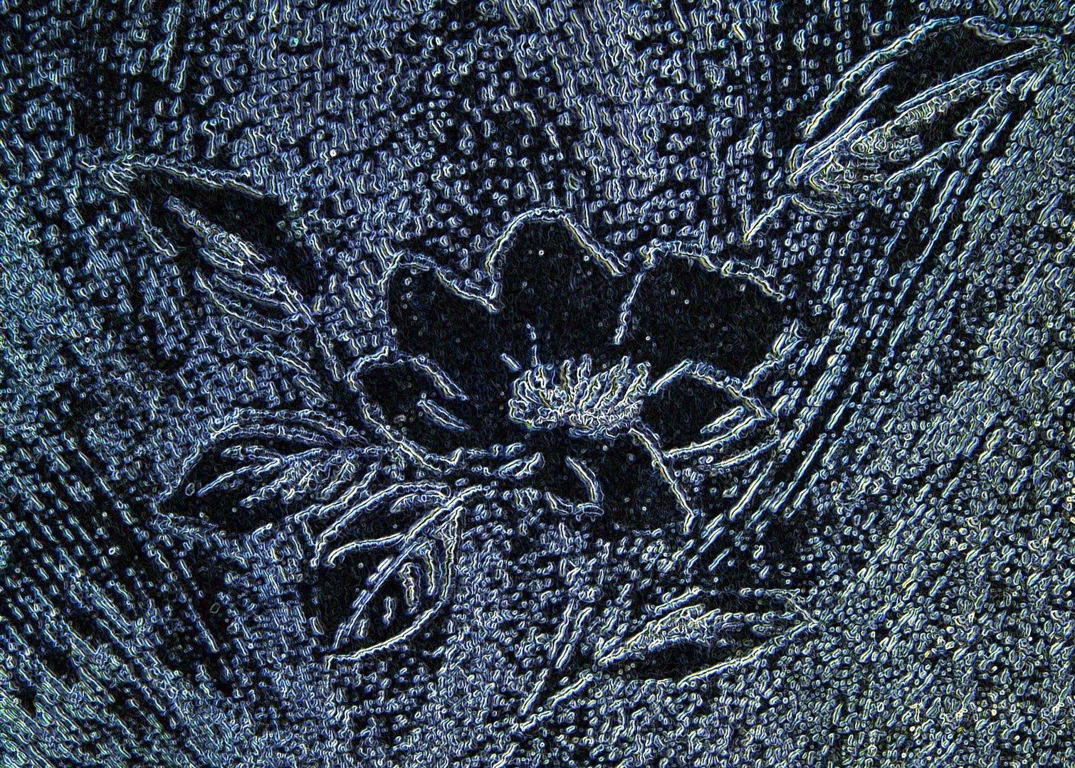 Blumendekor digital