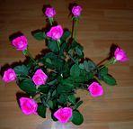 Blumengruß zum Valentinstag
