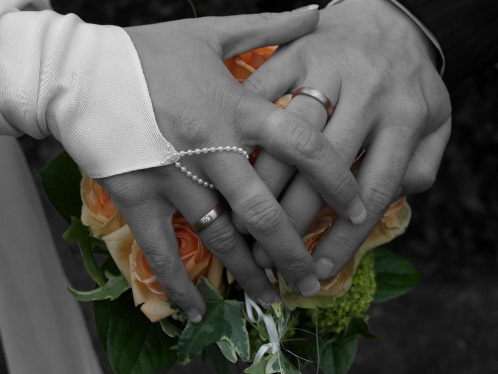 Blumen/Hände