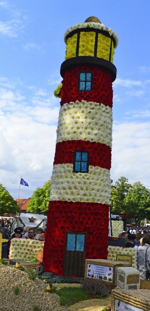 Blumenleuchtturm in Bardowick