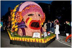 """Blumenparade in Heemsteede, Motiv """"der letze Mohikaner"""""""