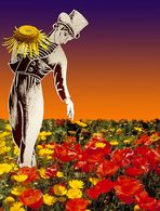 Blumenpflücker