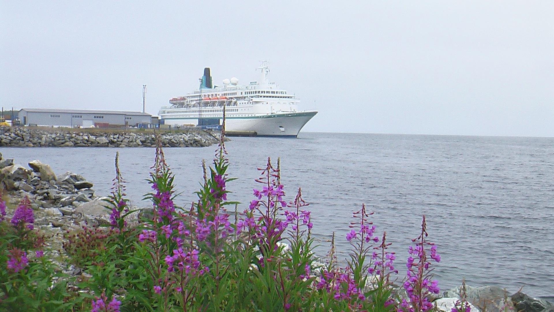 Blumenschiff