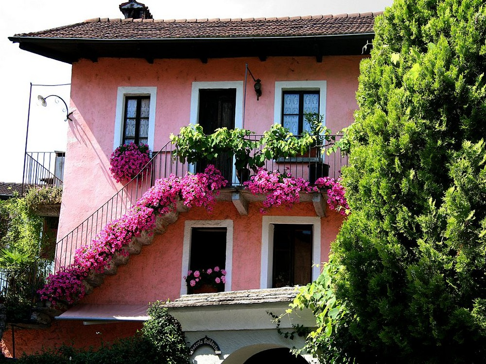 Blumenschmuck in Ascona