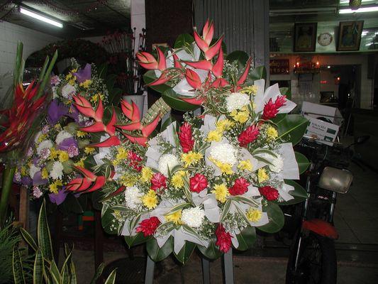 Blumenstrauss in Thailand