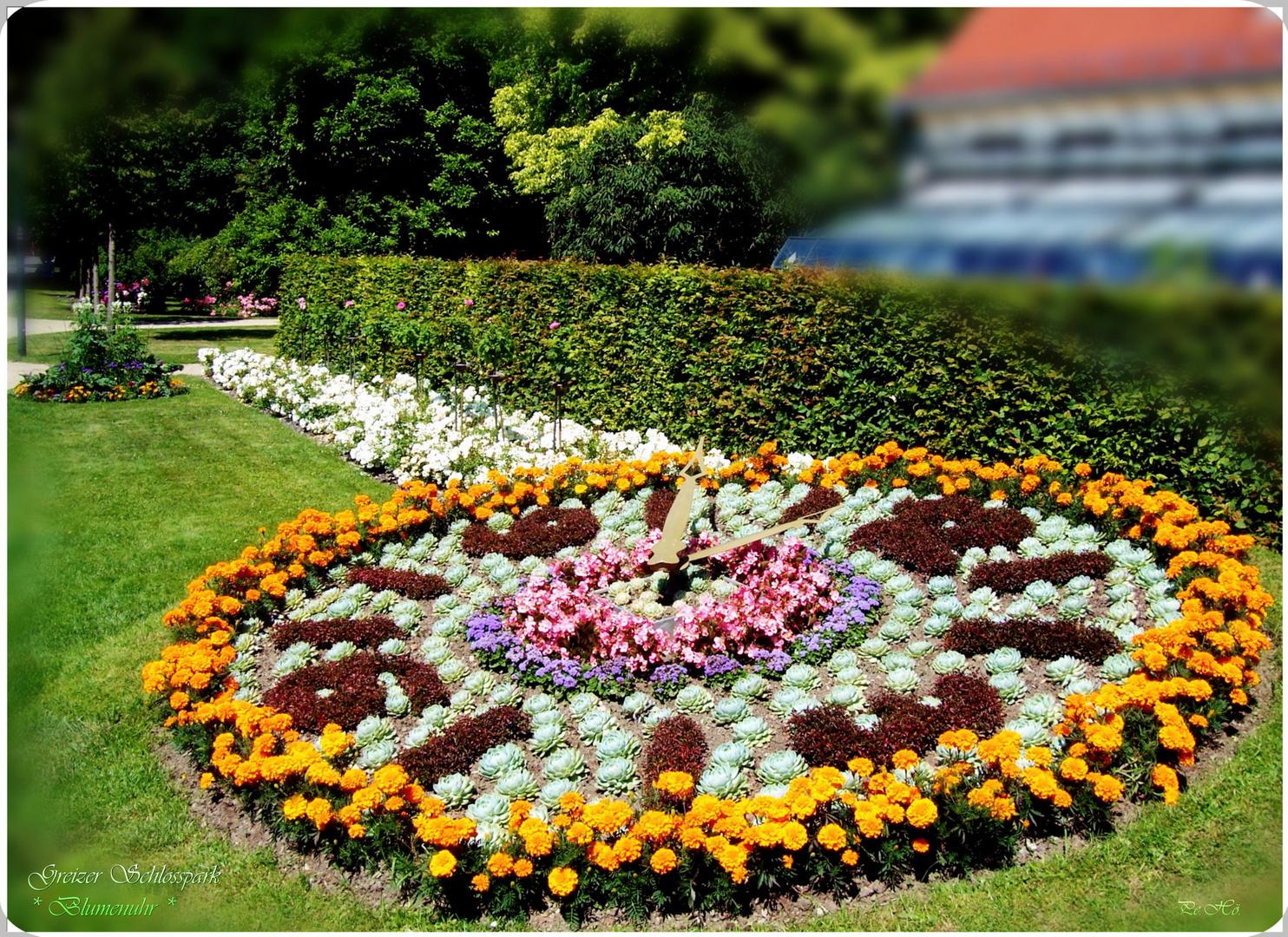 Blumenuhr