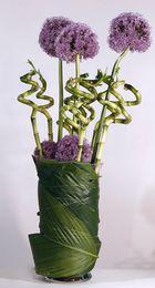 Blumenvase Offenblitz