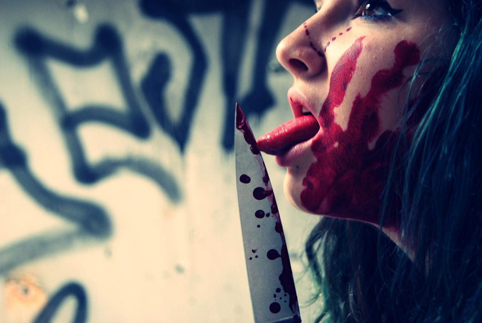 Blut geleckt