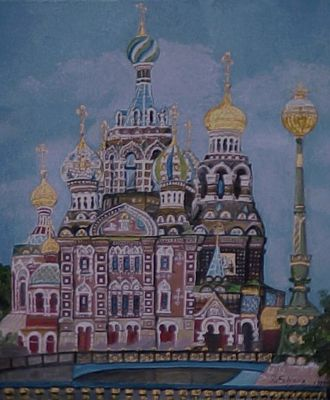 Blut-und Auferstehungskathedrale St. Petersburg