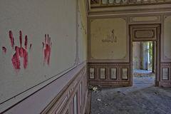 blutige Hände...