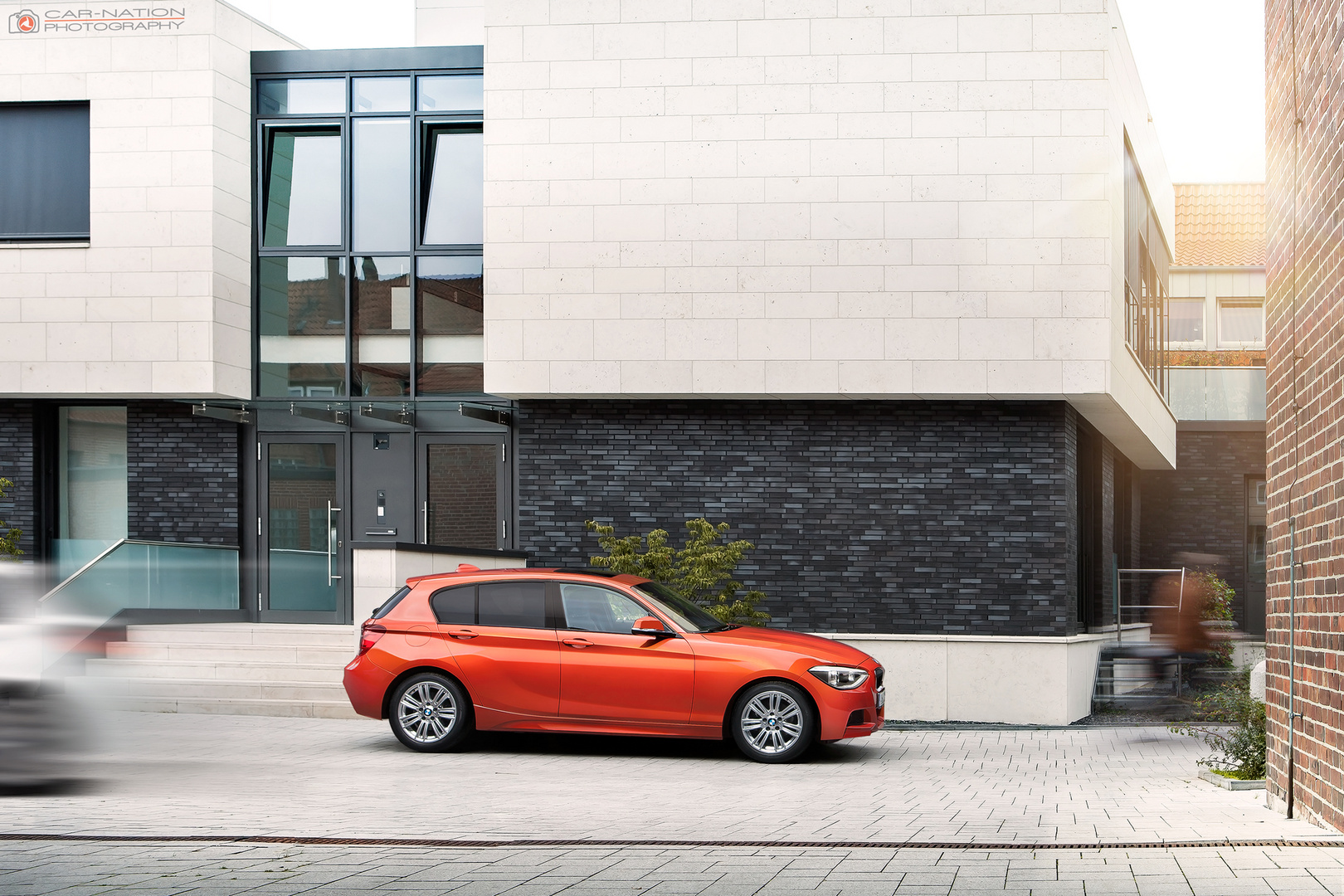 BMW 120d - side