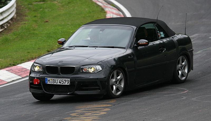 BMW 1er Cabrio als Erlkönig