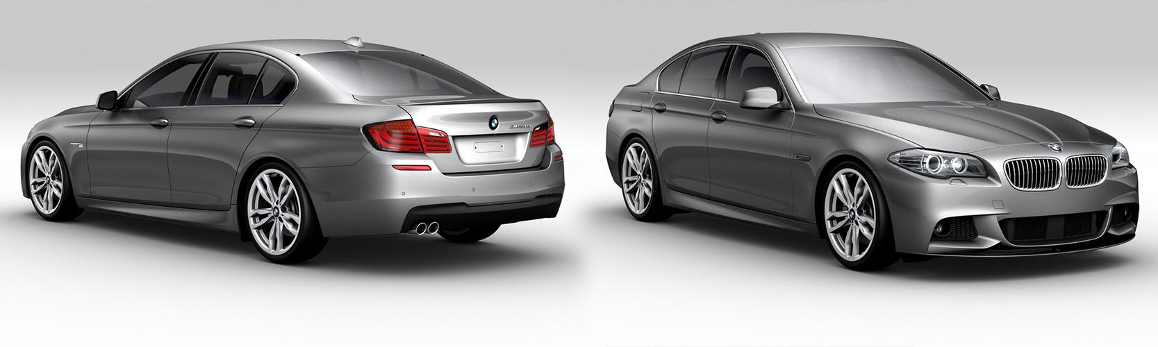 BMW 5er Rendering