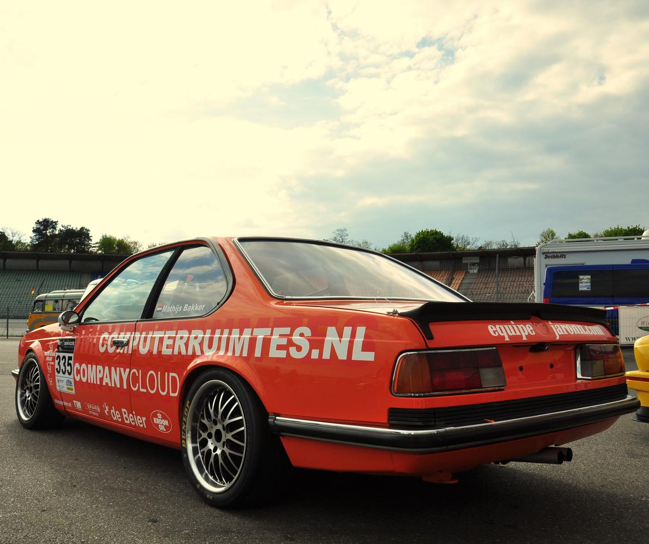 BMW 635 in Hockenheim