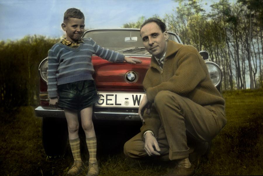 BMW 700 Familienfoto