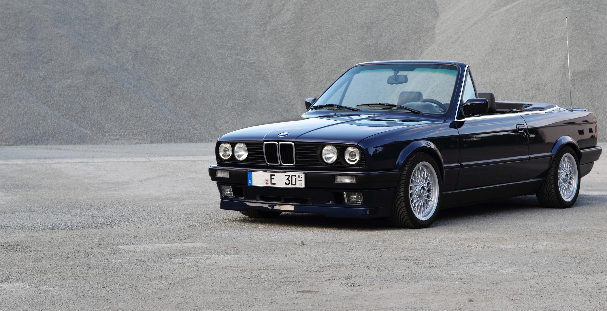 BMW e30 Cabrio wird 20