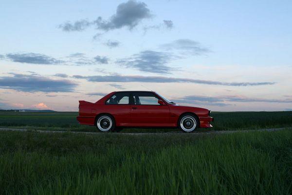 BMW e30 M3 ... kein standmodell