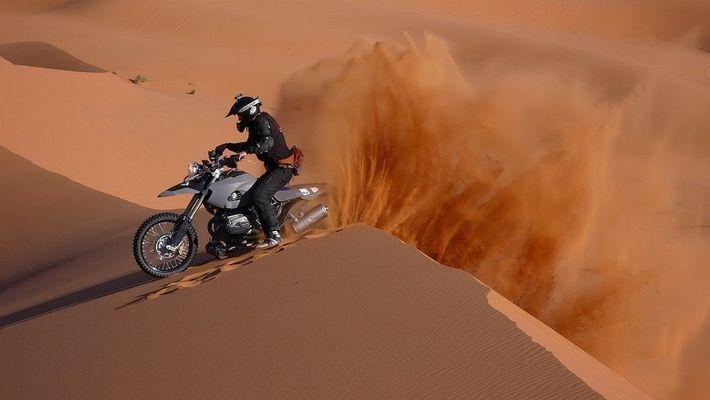 BMW HP 2, Marokko
