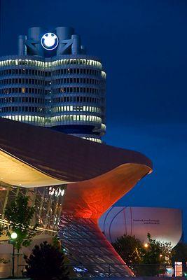 BMW im Kalt-Warm-Kontrast