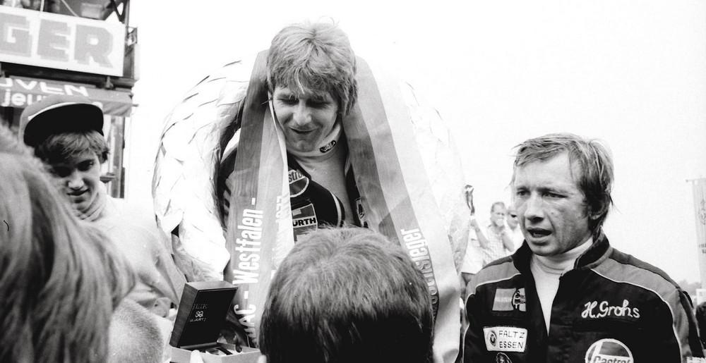 BMW Junior Team 1977. Westfalen Pokal in Zolder/B.Manfred Winkelhock. Sieger.